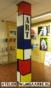 Onze kunsthoek in het centrum van Enschede...trots!