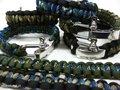 Paracord armbanden, verstelbare sluiting